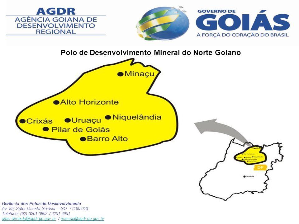 Polo de Desenvolvimento Mineral do Norte Goiano