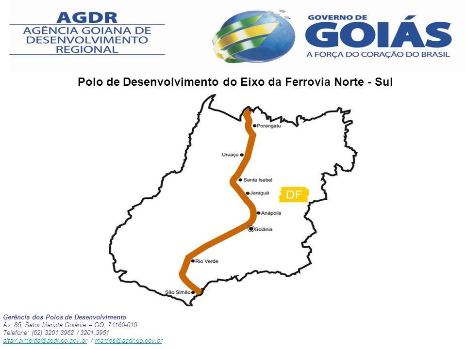 Polo de Desenvolvimento do Eixo da Ferrovia Norte - Sul