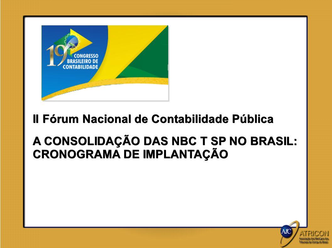 II Fórum Nacional de Contabilidade Pública