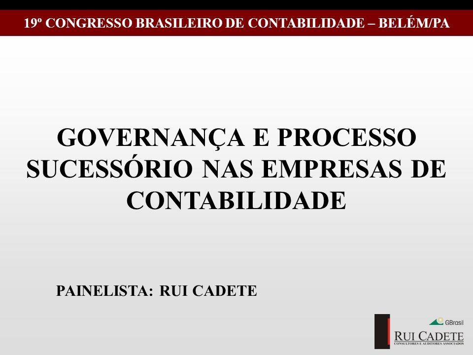 GOVERNANÇA E PROCESSO SUCESSÓRIO NAS EMPRESAS DE CONTABILIDADE