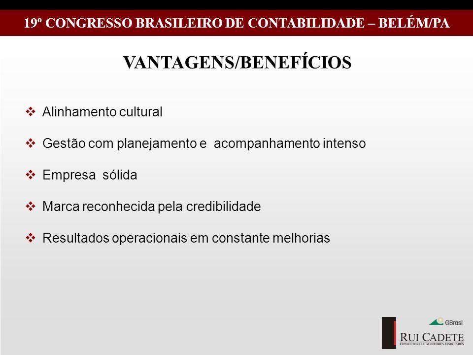 VANTAGENS/BENEFÍCIOS