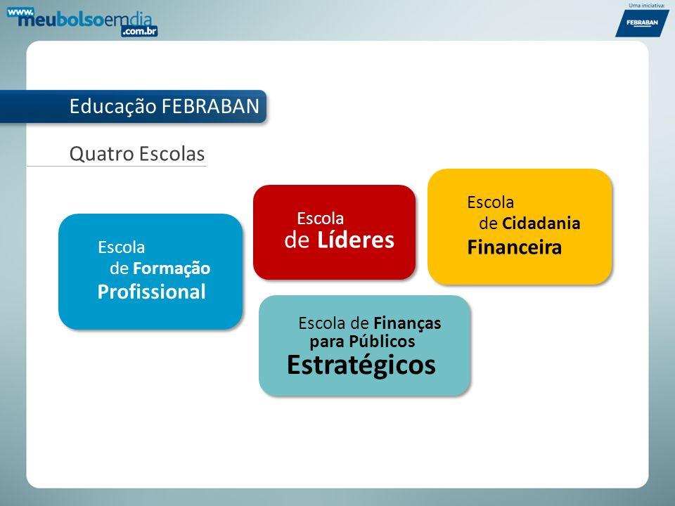 Estratégicos de Líderes Educação FEBRABAN Quatro Escolas Financeira
