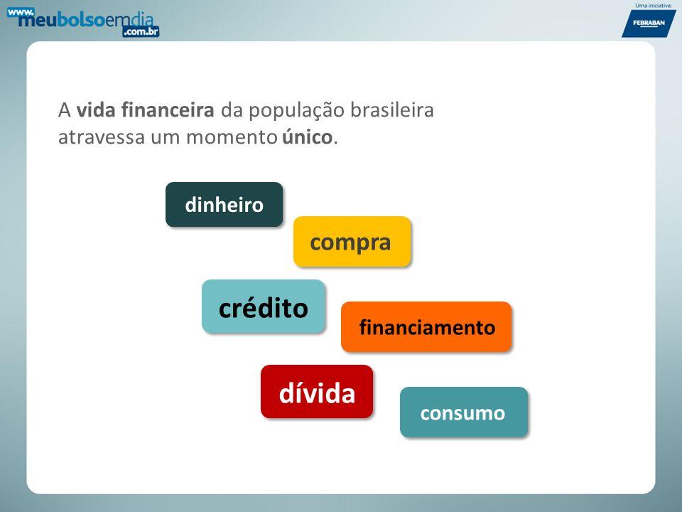 A vida financeira da população brasileira atravessa um momento único.