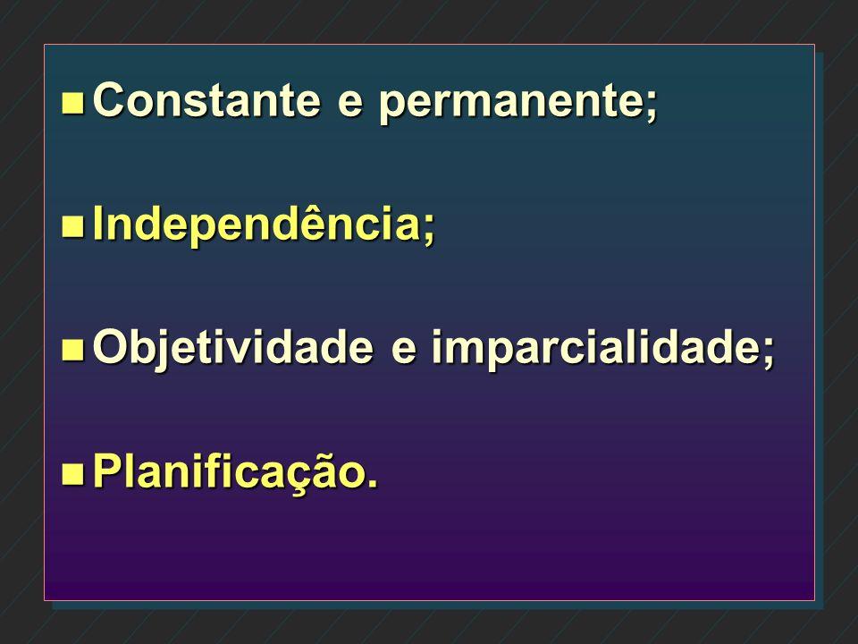Constante e permanente;