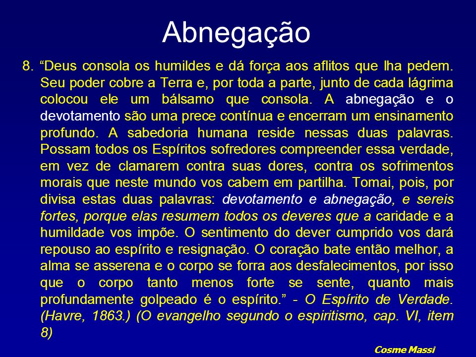 Abnegação