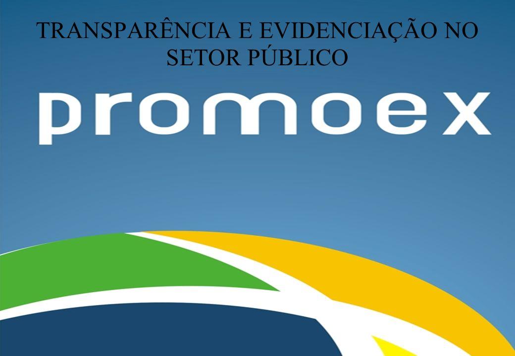 TRANSPARÊNCIA E EVIDENCIAÇÃO NO SETOR PÚBLICO