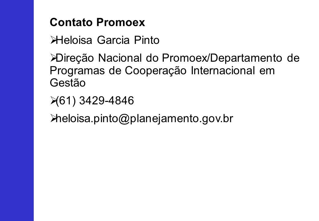 Contato Promoex Heloisa Garcia Pinto