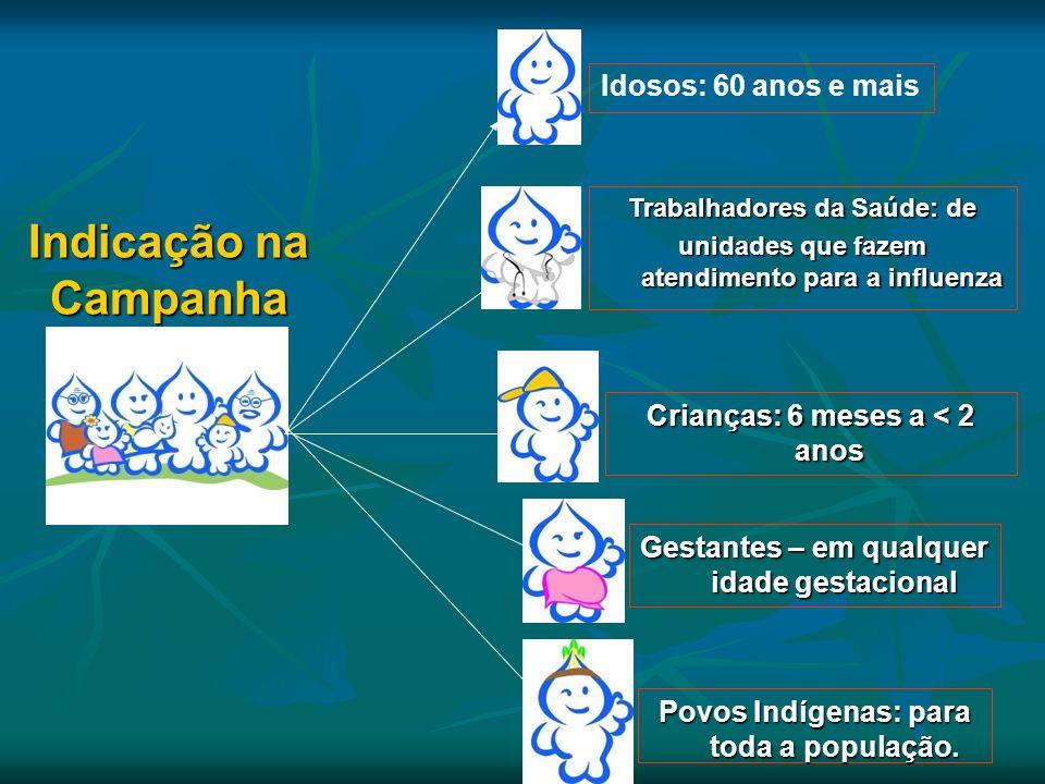 Indicação na Campanha Idosos: 60 anos e mais