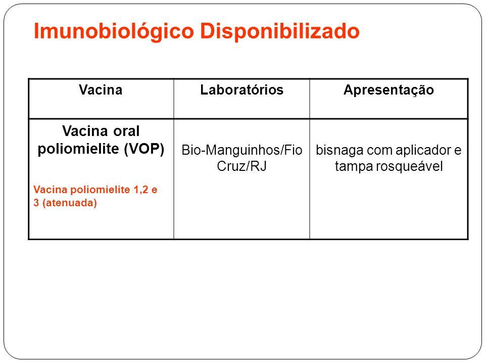 Imunobiológico Disponibilizado