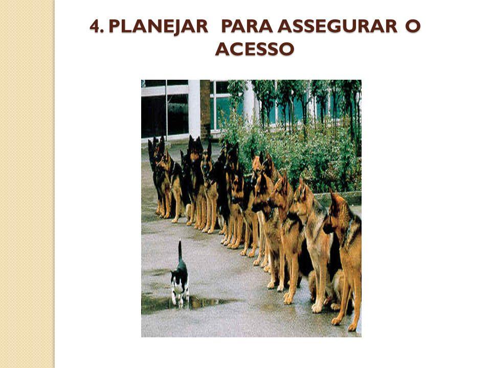 4. PLANEJAR PARA ASSEGURAR O ACESSO