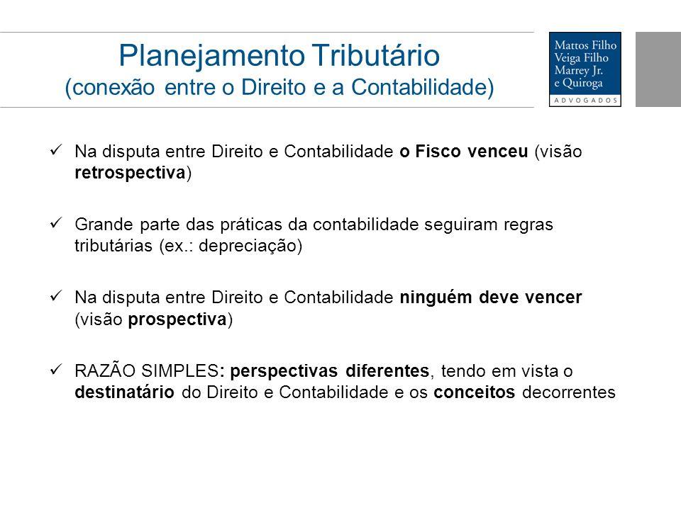 Planejamento Tributário (conexão entre o Direito e a Contabilidade)
