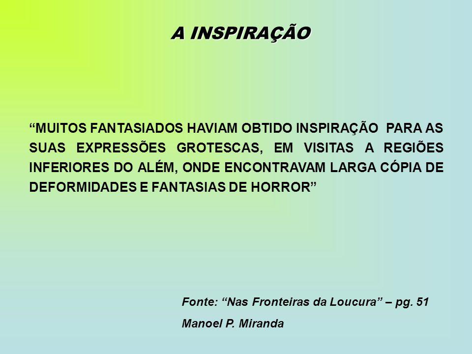 A INSPIRAÇÃO