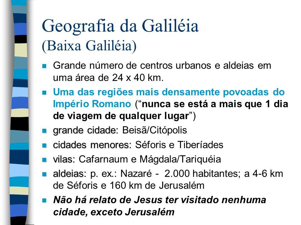 Geografia da Galiléia (Baixa Galiléia)