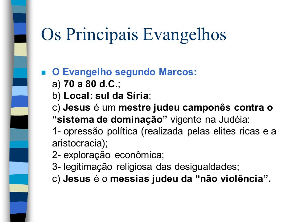 Os Principais Evangelhos