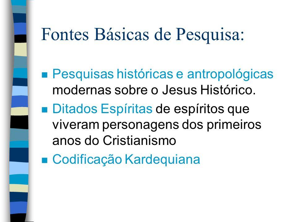 Fontes Básicas de Pesquisa: