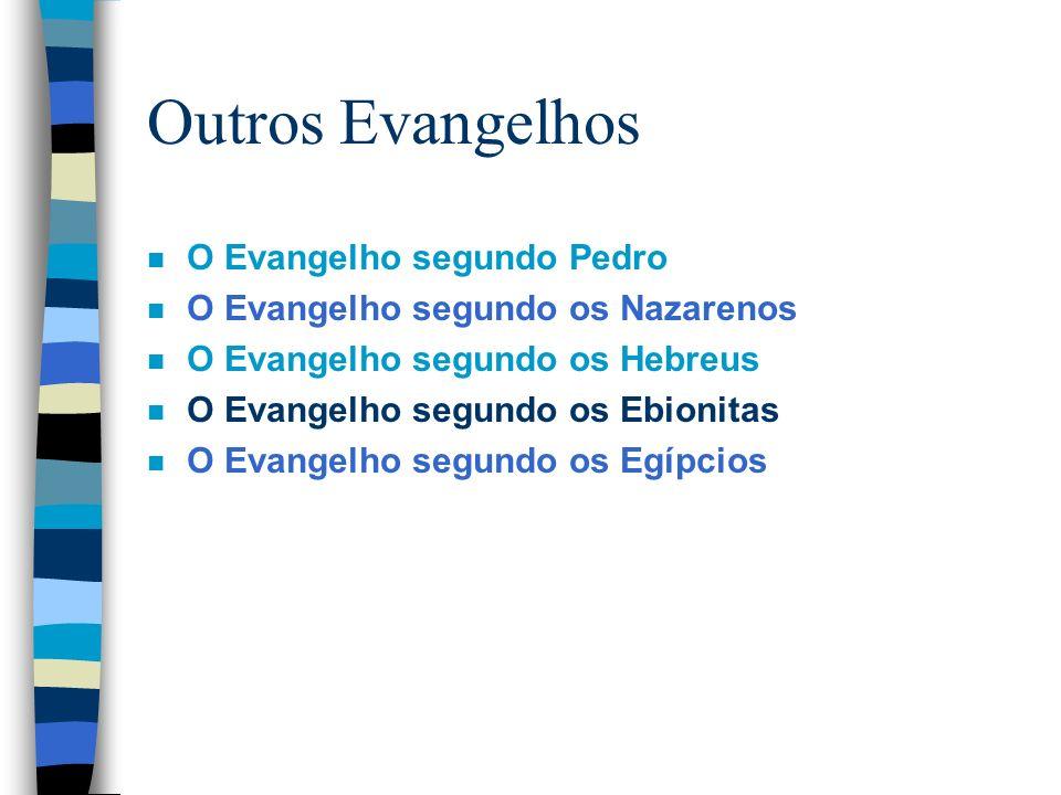 Outros Evangelhos O Evangelho segundo Pedro