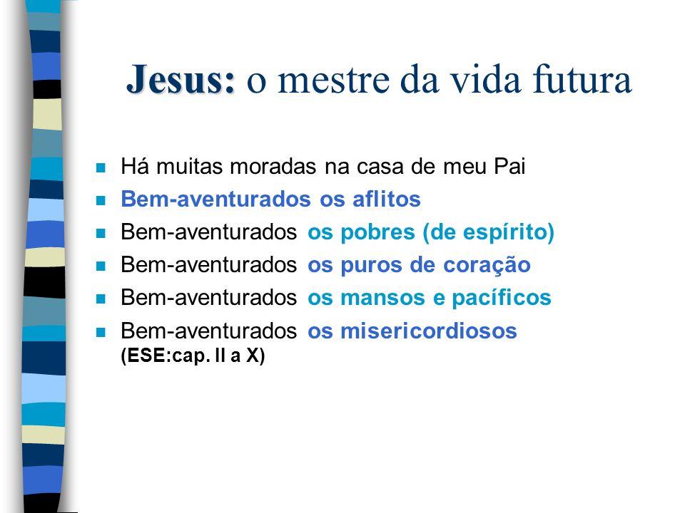Jesus: o mestre da vida futura