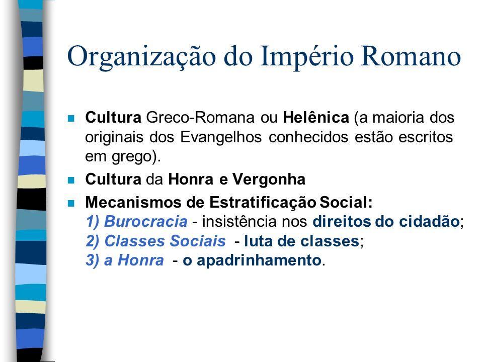 Organização do Império Romano