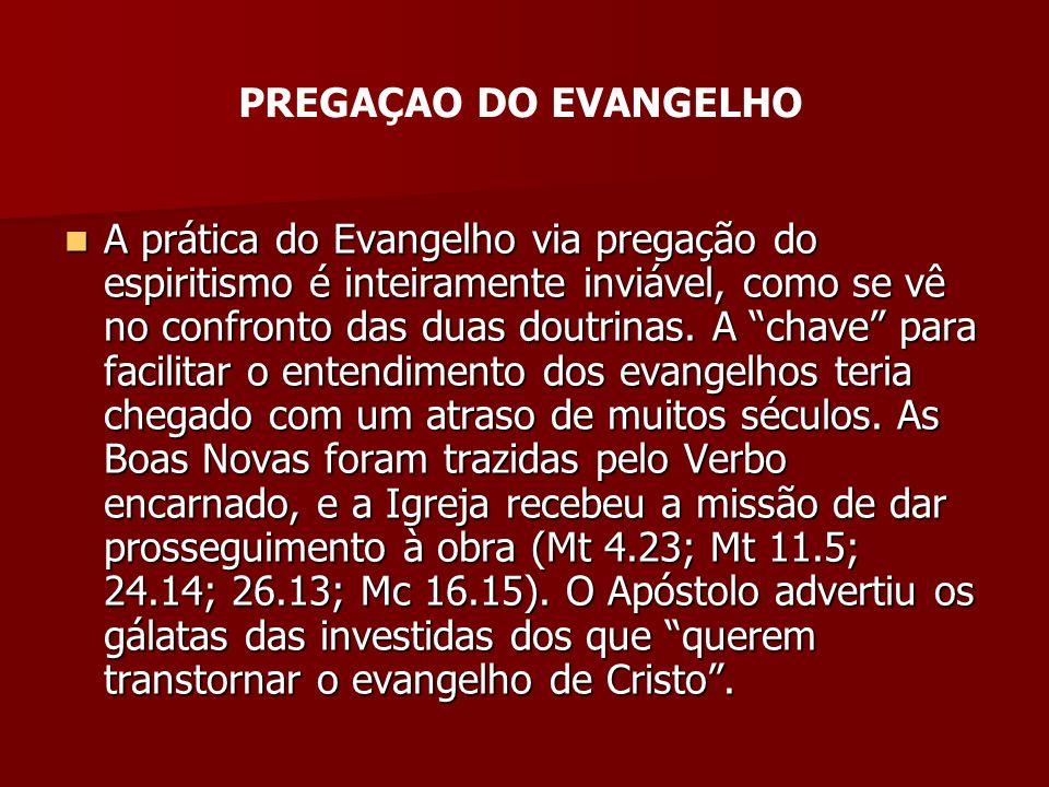 PREGAÇAO DO EVANGELHO