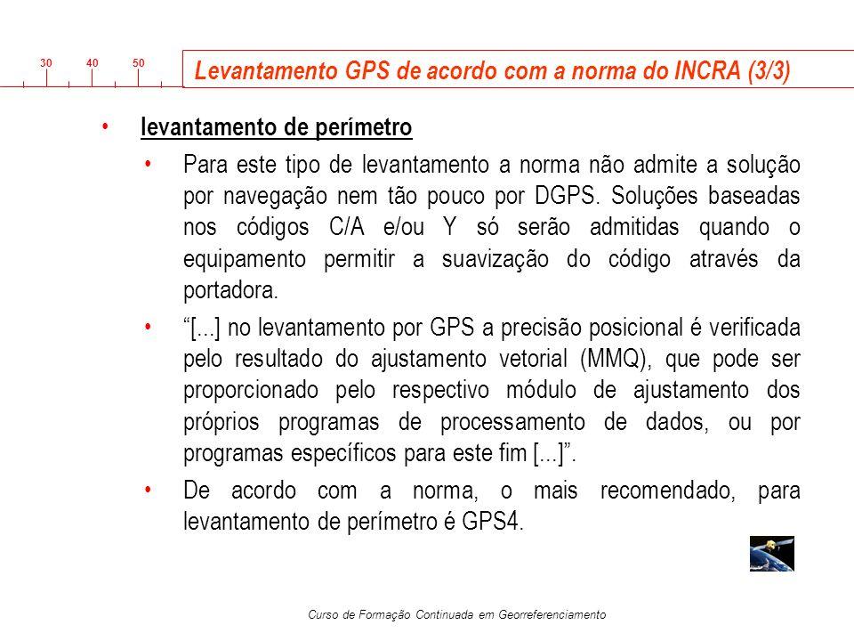 Levantamento GPS de acordo com a norma do INCRA (3/3)