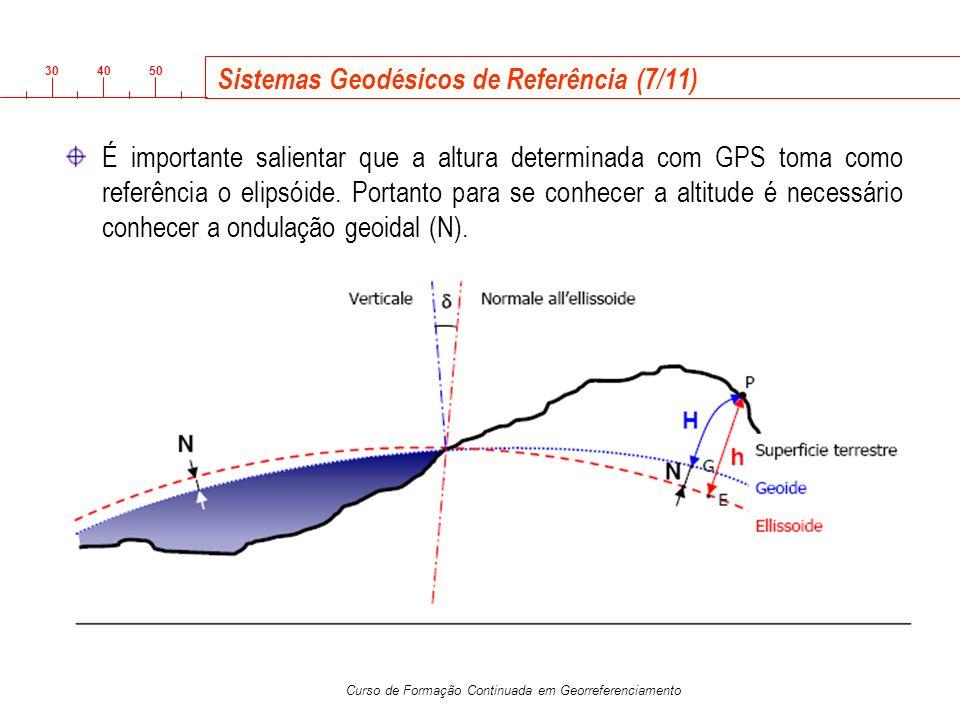 Sistemas Geodésicos de Referência (7/11)