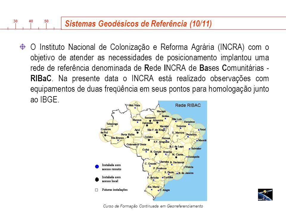 Sistemas Geodésicos de Referência (10/11)