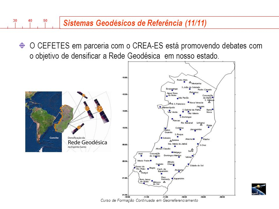 Sistemas Geodésicos de Referência (11/11)