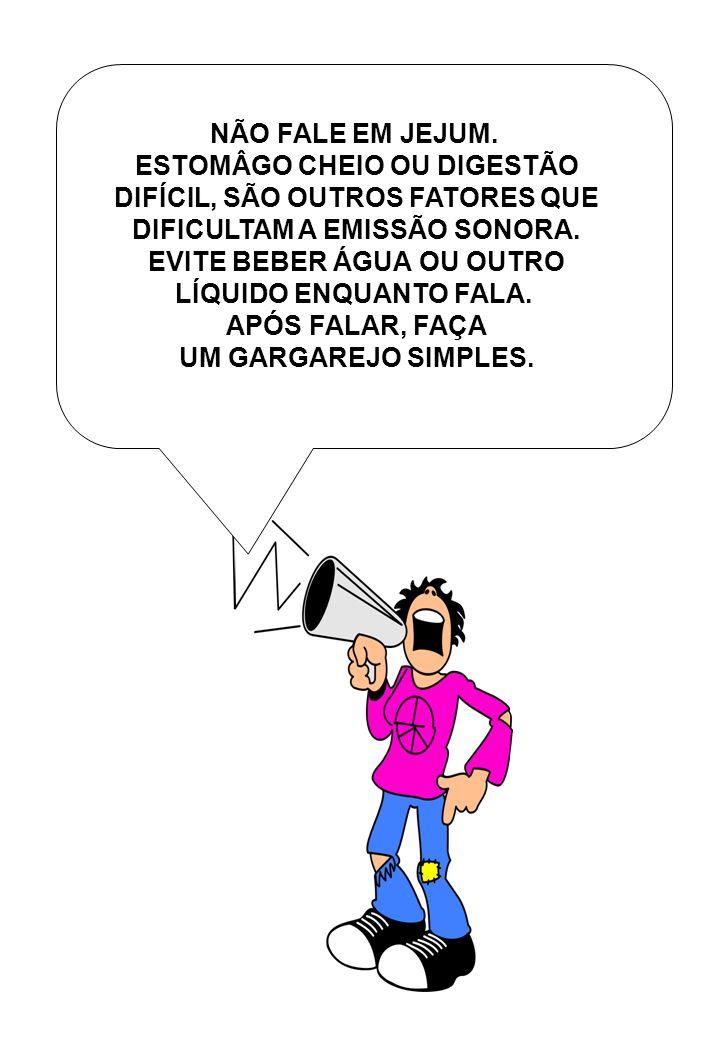 ESTOMÂGO CHEIO OU DIGESTÃO DIFÍCIL, SÃO OUTROS FATORES QUE
