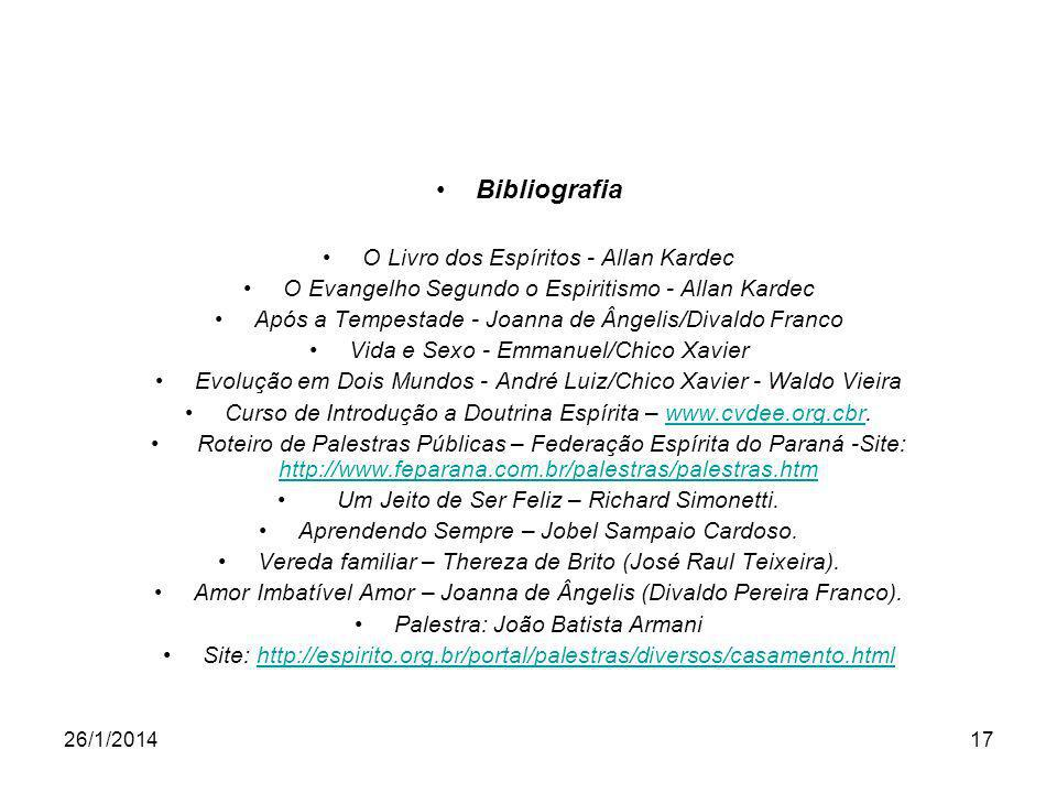 Bibliografia O Livro dos Espíritos - Allan Kardec