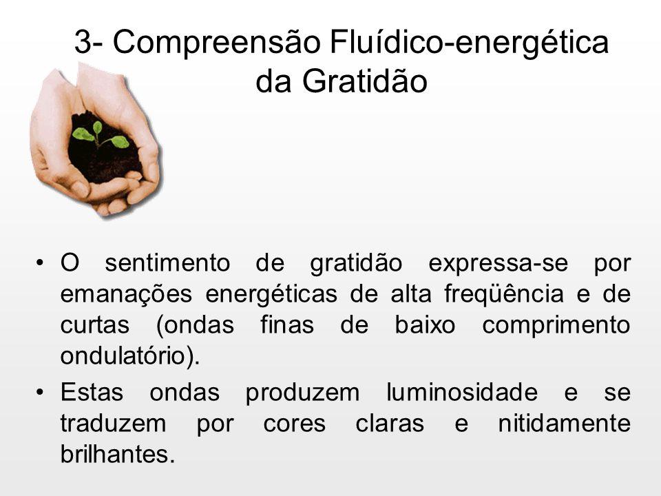 3- Compreensão Fluídico-energética da Gratidão