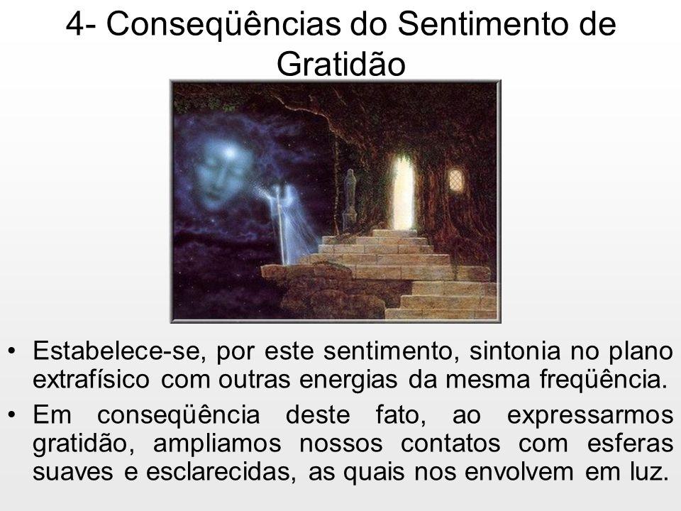 4- Conseqüências do Sentimento de Gratidão