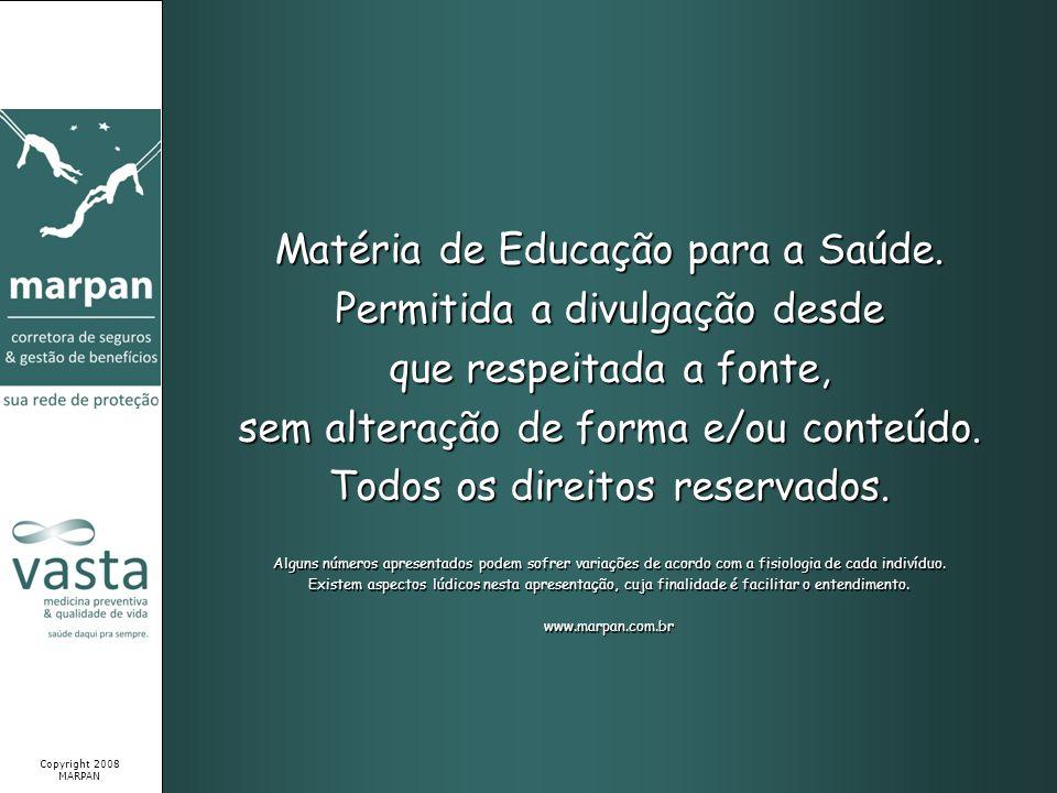 Matéria de Educação para a Saúde. Permitida a divulgação desde