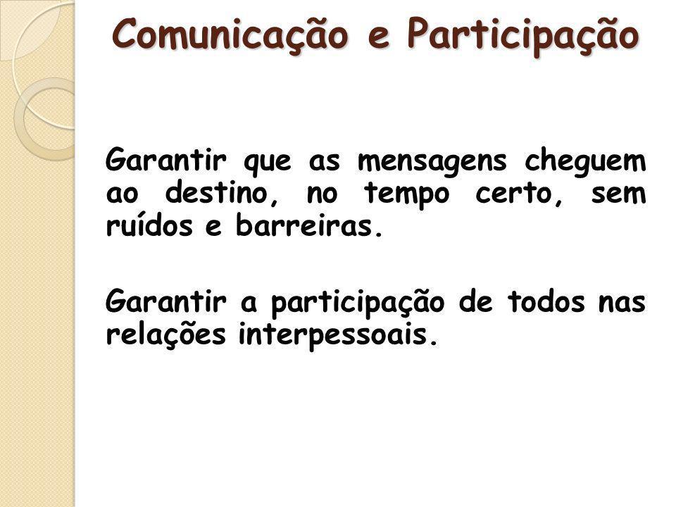 Comunicação e Participação