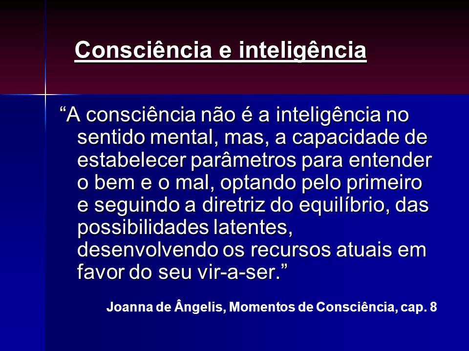 Consciência e inteligência
