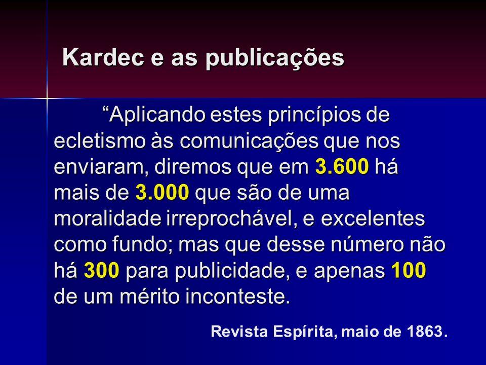 Kardec e as publicações