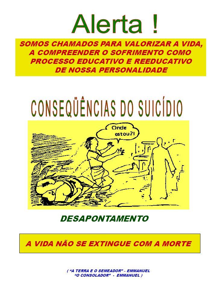 CONSEQÜÊNCIAS DO SUICÍDIO