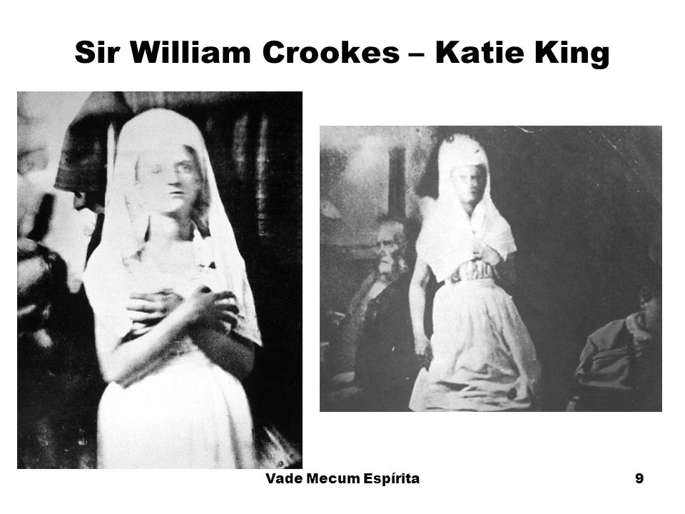 Sir William Crookes – Katie King