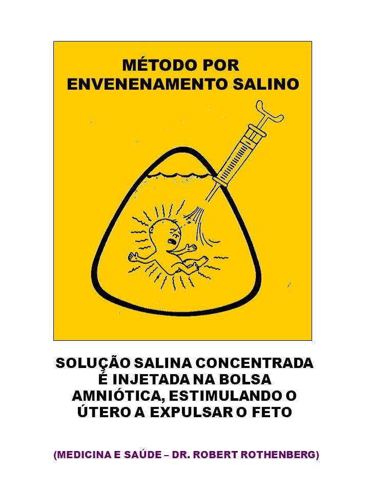 SOLUÇÃO SALINA CONCENTRADA AMNIÓTICA, ESTIMULANDO O