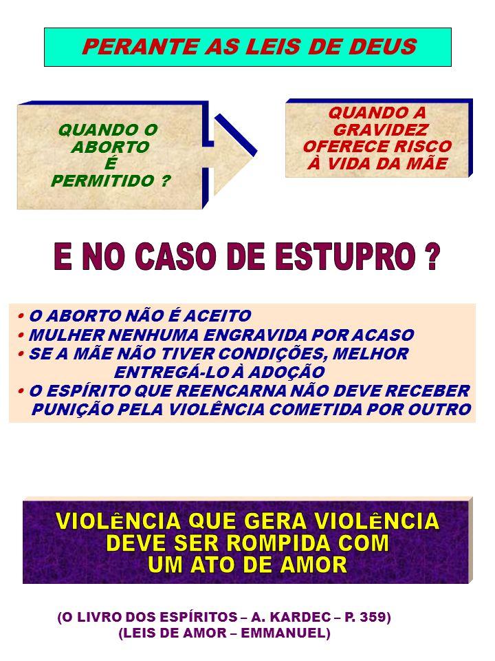 VIOLÊNCIA QUE GERA VIOLÊNCIA DEVE SER ROMPIDA COM UM ATO DE AMOR