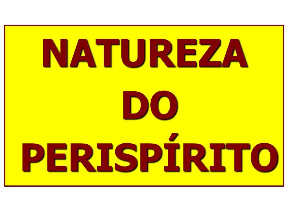 NATUREZA DO PERISPÍRITO