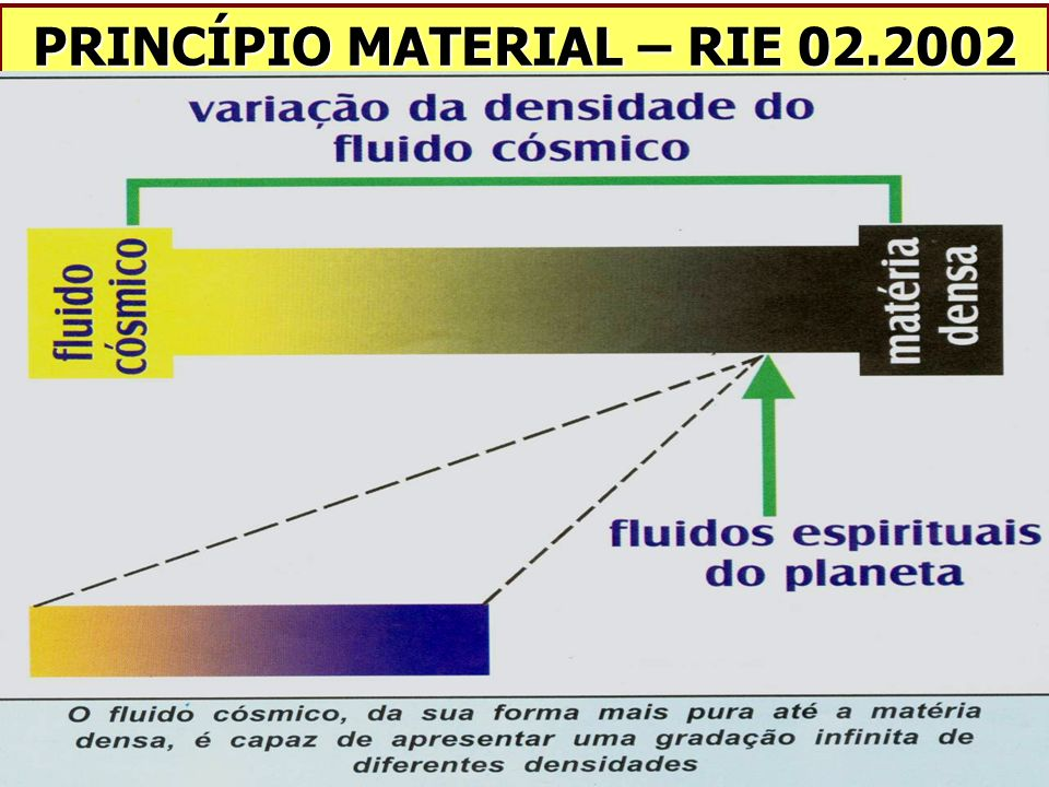 PRINCÍPIO MATERIAL – RIE 02.2002