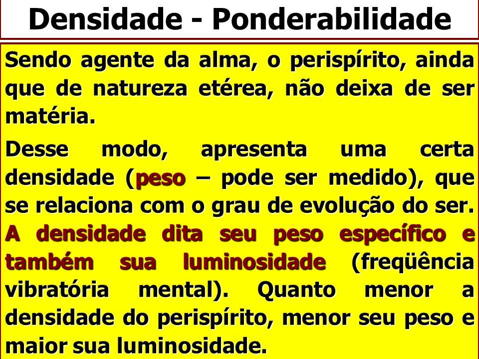 Densidade - Ponderabilidade