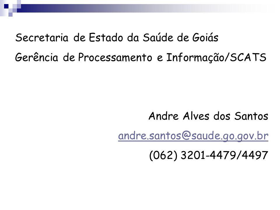 Secretaria de Estado da Saúde de Goiás