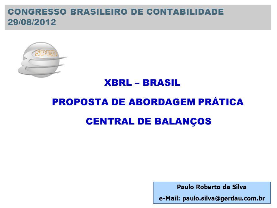 CONGRESSO BRASILEIRO DE CONTABILIDADE 29/08/2012