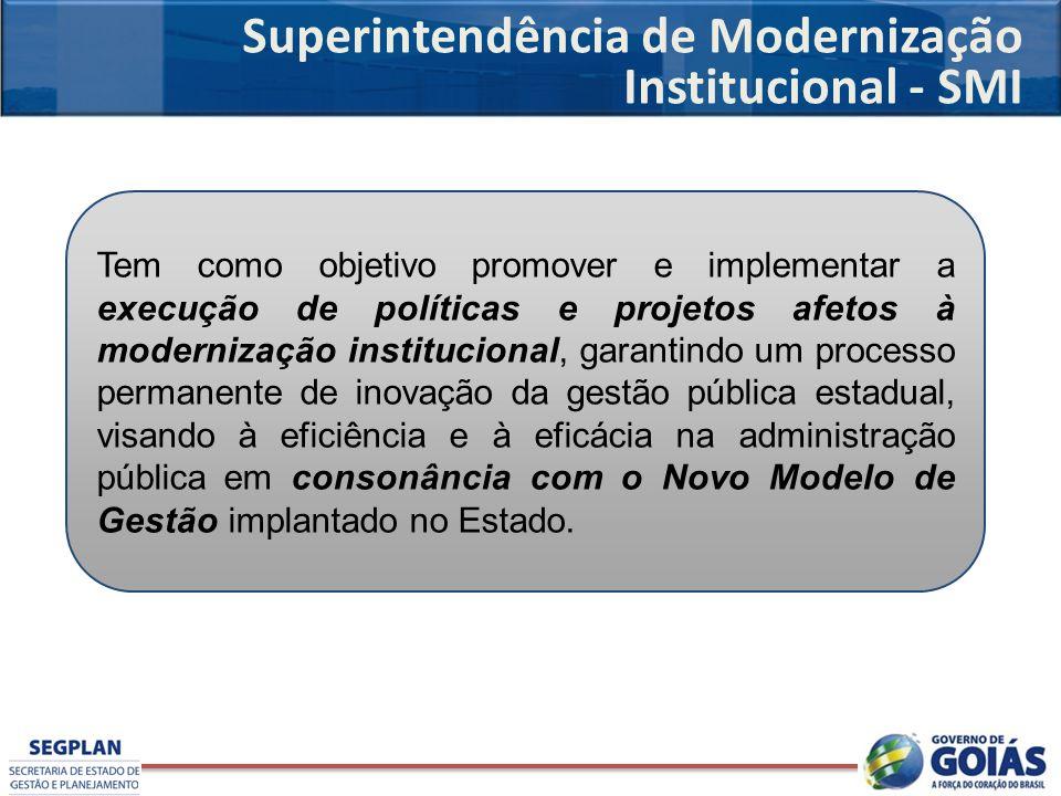 Superintendência de Modernização Institucional - SMI