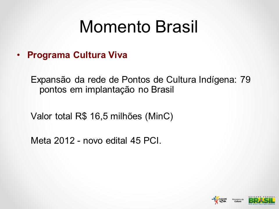 Momento Brasil Programa Cultura Viva