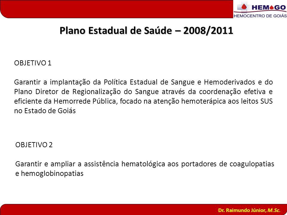 Plano Estadual de Saúde – 2008/2011