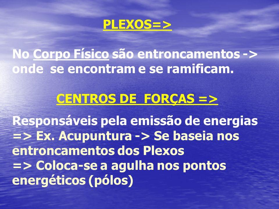CENTROS DE FORÇAS =>