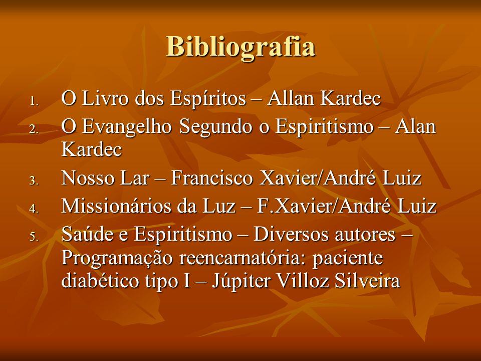 Bibliografia O Livro dos Espíritos – Allan Kardec