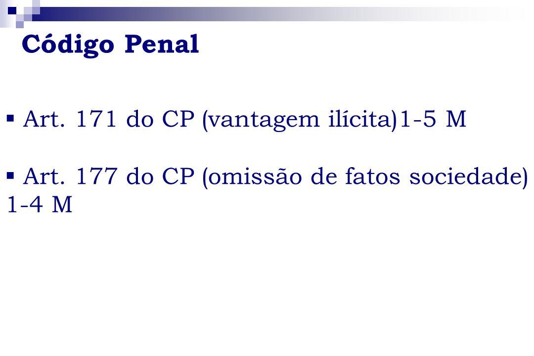 Código Penal Art. 171 do CP (vantagem ilícita)1-5 M